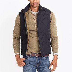 Men's Navy Jcrew Factory Vest
